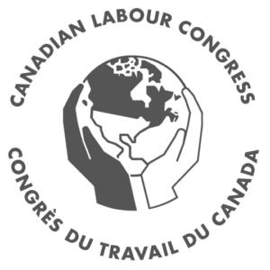 Logo. Congrès du travail du Canada.