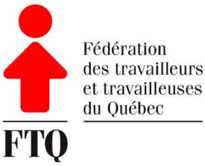 Logo. Fédération des travailleurs et travailleuses du Québec.