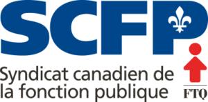 Logo. Syndicat canadien de la fonction publique et FTQ.